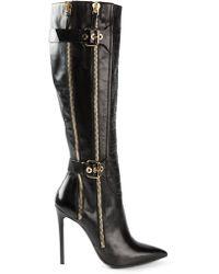 Gianmarco Lorenzi Buckled Boots - Lyst