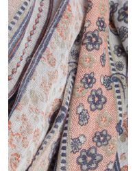 Cilla Collection - Straight To Prints Scarf - Lyst