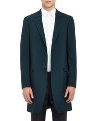 Jil Sander Wool Overcoat - Lyst