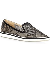 Nicholas Kirkwood Pointed Lace Loafers - Lyst
