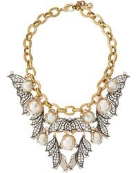 Lulu Frost Bloom Simulated Pearl Necklace - Lyst