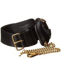 DSquared2 Penitentiary Handcuffs Belt - Lyst