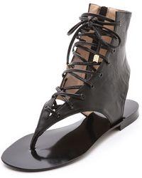 By Malene Birger - Tallia Gladiator Flat Sandals - Lyst