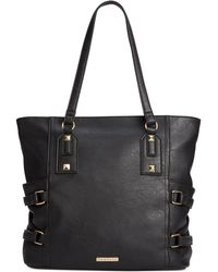 Rampage Side Buckle Tote - Lyst