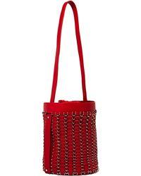 Paco Rabanne New Season - Womens Round Leather Seau Bag - Lyst