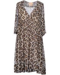 Erika Cavallini Semi Couture Short Dress - Lyst