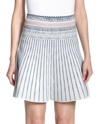 BCBGMAXAZRIA Queeny Printed Skirt - Lyst