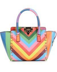 Valentino Micro Mini Shopper Bag - Lyst