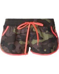 Sundek - Camouflage Print Swim Shorts - Lyst
