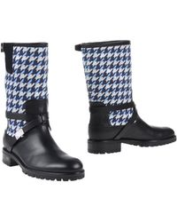 Dior Ankle Boots blue - Lyst