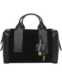 Pierre Hardy Suede And Leather Cross-Body Bag Suede And Leather Cross-Body Bag black - Lyst