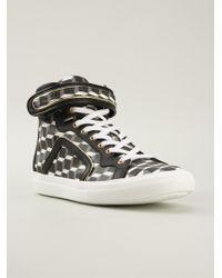 Pierre Hardy Hitop Sneakers - Lyst