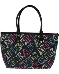 Boutique Moschino - Large Fabric Bag - Lyst