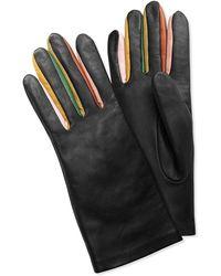 Rodarte Black Leather Gloves - Lyst