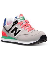 New Balance Women'S 574 Casual Sneakers From Finish Line multicolor - Lyst