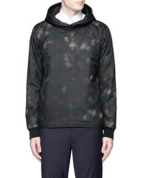 PS by Paul Smith | Faded Dot Digital Print Reversible Hoodie | Lyst