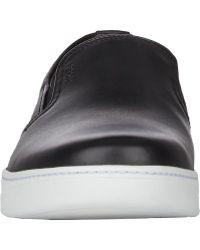 Prada Leather Slip-on Sneakers - Lyst