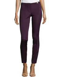 Versace Skinny Ankle Trousers - Lyst