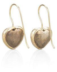 Toosis Fools Heart Earrings - Lyst