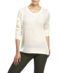 Olivaceous - Cross Back Sweater - Lyst