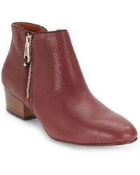 Rebecca Minkoff Macri Leather Ankle Boots - Lyst