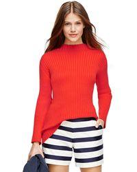 Brooks Brothers Supima Cotton Mockneck Sweater - Lyst