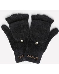 Bebe - Logo Gloves - Lyst