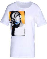 Acne Studios Short Sleeve T-Shirt - Lyst