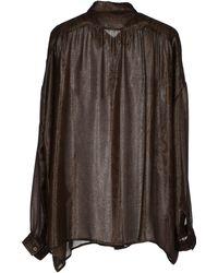 Gucci Brown Shirt - Lyst