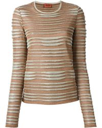 Missoni Patterned Sweater - Lyst
