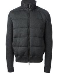 Etro Wool Padded Jacket - Lyst