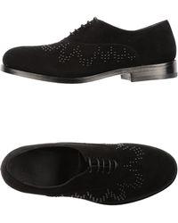 Alaïa Black Laceup Shoes - Lyst