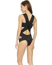 Minimale Animale - The Stephanie Swimsuit - Dark Sea - Lyst