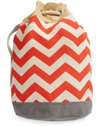 TOMS 'Reef' Canvas Bucket Bag - Lyst