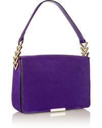 Victoria Beckham Suede Shoulder Bag - Lyst