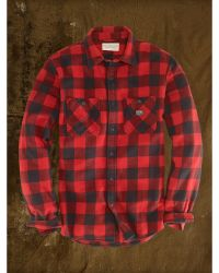 Denim & Supply Ralph Lauren Buffalo Plaid Sport Shirt - Lyst