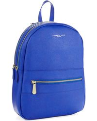 Kenneth Cole - Morris Street Leather Backpack - Lyst