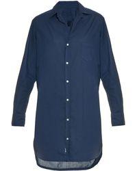 9c90bf96f5 Frank   Eileen - Mary Cotton-poplin Shirtdress - Lyst