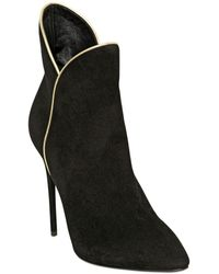 Giuseppe Zanotti 115Mm Suede Ankle Boots - Lyst