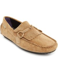 Paul & Joe Carlton Beige Suede Loafers - Lyst