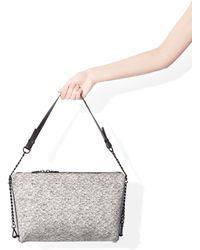 Zara Cloth Messenger Bag - Lyst