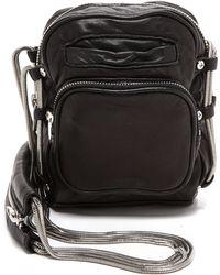 Alexander Wang Brenda Chain Cross Body Bag  Black - Lyst