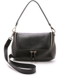 Anya Hindmarch Maxi Zip Cross Body Bag - Black - Lyst
