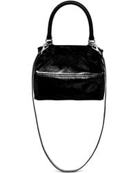 Givenchy 'Pandora' Small Patent Leather Bag - Lyst