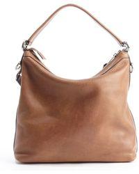 Gucci Old Natural Leather Miss Gg Hobo Shoulder Bag - Lyst