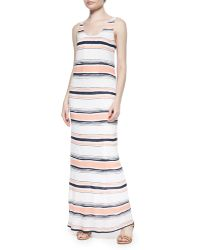 Splendid Zanzibar Striped Sleeveless Maxi Dress - Lyst
