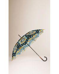 Burberry | Tie-dye Print Walking Umbrella | Lyst