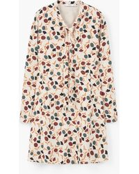 Mango | Flowy Print Dress | Lyst