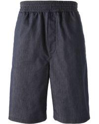 Neil Barrett Slouch Shorts - Lyst