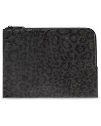 CALVIN KLEIN 205W39NYC - Collection Cheetah Print Hair Calf Portfolio - Lyst